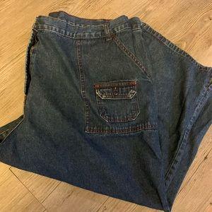 Pennington's size 22 cotton crop pant w pockets